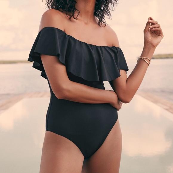 676b25d4389 Trina Turk Gypsy Off Shoulder One-Piece Swimsuit. M_5b342dfcbb7615b1cd573747